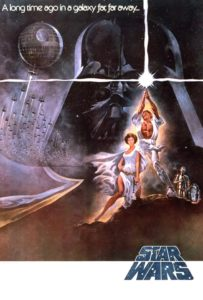 star wars, guerre stellari, 1977, movie poster,