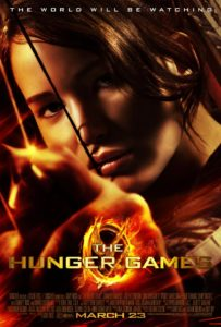 the hunger games, movie poster, cinema, film, saghe cinematografiche