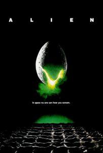 alien, 1979, movie poster
