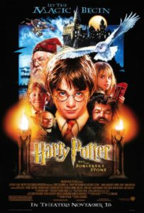 harry potter, magic, movie poster, saghe cinematografiche
