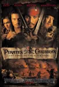 pirati dei caraibi, pirates of the carribean, movie poster, saghe cinematografiche