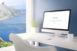 web design, webdesign, la luna di cristina, amalfi coast, holiday house, logo, graphic design, marketing, communication, advertising, pubblicità, costiera amalfitana, daniele barone