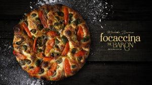italian food, pizza, focaccia, mcbaron, barone,
