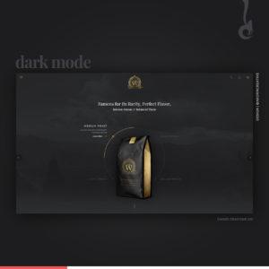 trend web design, trend, web design, dark mode, design, creative, studio creativo, daniele barone