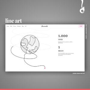 trend web design, trend, web design, line art, design, creative, studio creativo, daniele barone